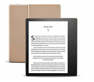 Kindle Oasis Gold Lector Libros Electronico Warm Light 32 Gb