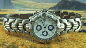 Relógio Bulova 96b11 Titânio, Tom Prata, Cronógrafo.