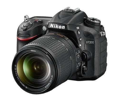 Câmera Nikon Dslr D7200 Com Lente 18-140mm Vr