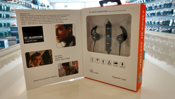 Fone De Ouvido Bluetooth Jbl Magnetic Type Bt Headphone