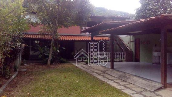 Casa Com 3 Dormitórios À Venda, 167 M² Por R$ 800.000,00 - Itaipu - Niterói/rj - Ca1073