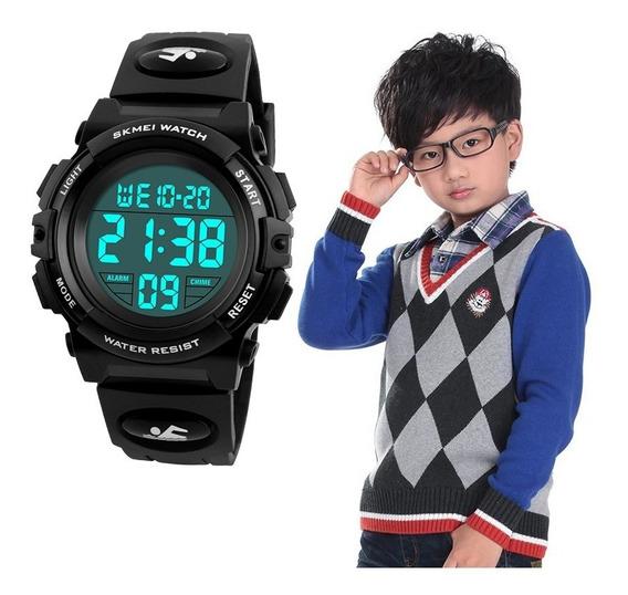 Relógio Infantil Digital Esportivo Skmei À Prova D