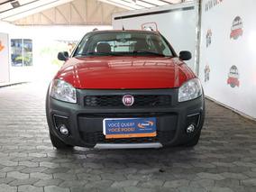 Fiat Strada 1.4 Hard Working Cab. Dupla Flex 3p 2017 Unico D