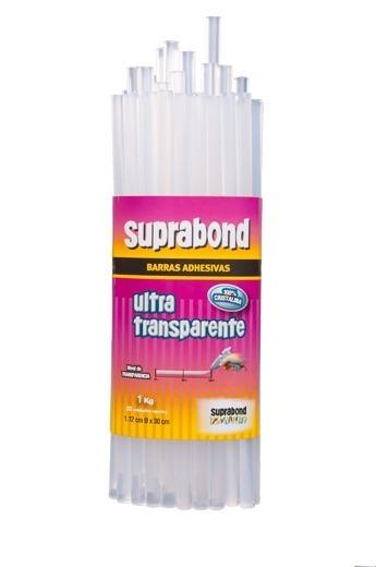 Barras Suprabond Gruesas Ultratransparentes Pistola 1kg