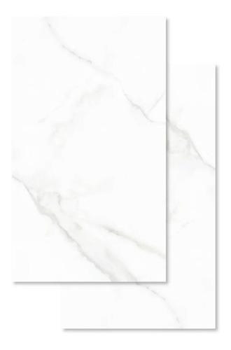 Imagen 1 de 4 de Porcelanico Marmo Carrara 45x90 Lume Calacata Mate Rt