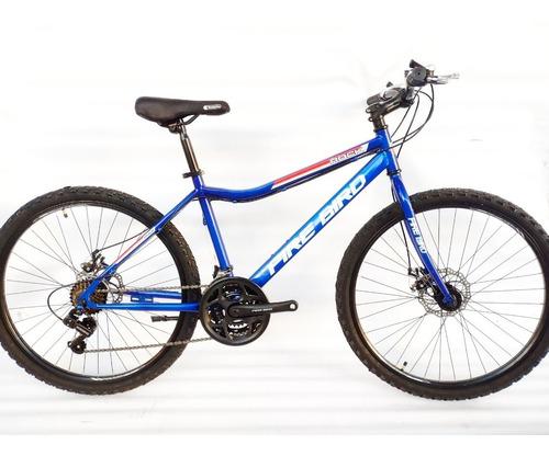 Imagen 1 de 2 de Bicicleta Mtb Fire Bird Rock Rodado 26 Azul