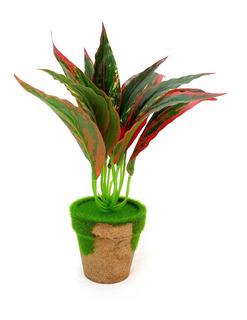 Planta Artificial Con Maceta Mod2 #90221
