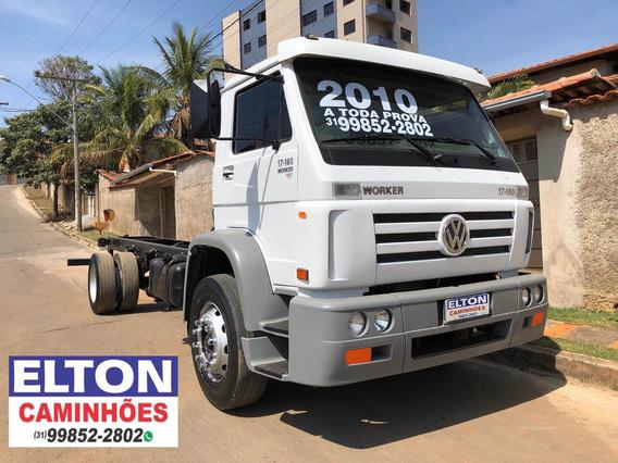 Caminhão Vw 17-180 Ano 2010 Super Novo A Toda Prova
