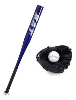 Set De Baseball Beisbol Infantil Bate Aluminio Guante Pelota