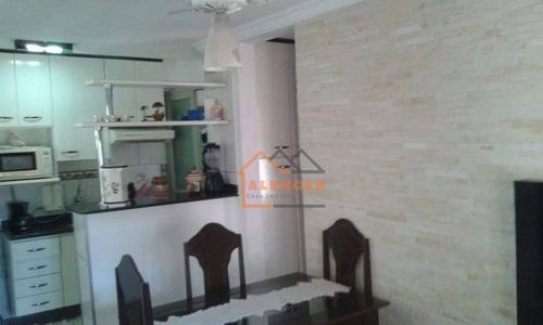 Imagem 1 de 11 de Apartamento Com 2 Dormitórios À Venda, 44 M² Por R$ 180.000 - Vila Jacuí - São Paulo/sp - Ap0019