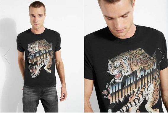 Remera Guess Eco Mcm Tiger Importada 100% Original