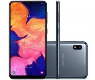 Smartphone Samsung Galaxy A10 32gb Preto 4g - 2gb Ram 6,2