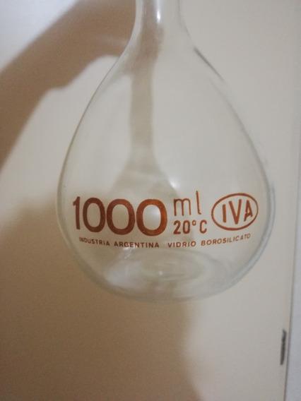 Matraz Volumétrico (aforado) 1000 Ml