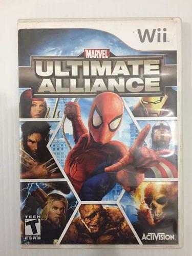 Marvel Ultímate Alliance Nintendo Wii