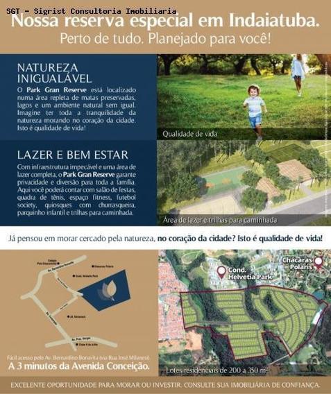 Terreno Em Condomínio Para Venda Em Indaiatuba, Gran Reserve - 356_2-617292