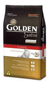 Ração Golden Gatos Adultos Carne 10kg - Pet Hobby