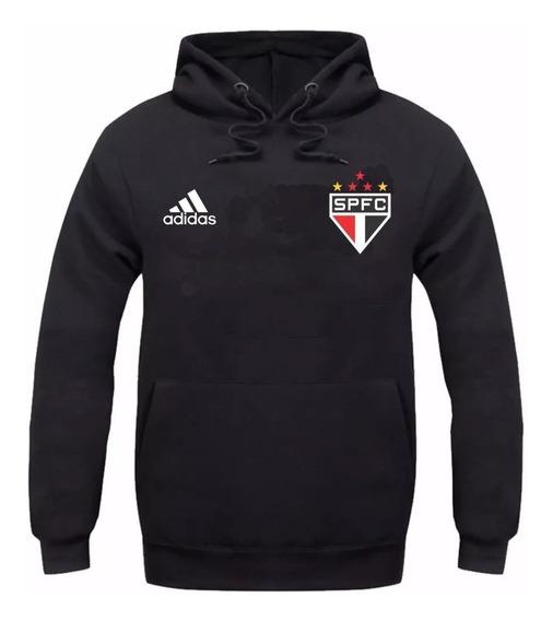 Kit Blusa Moletom + Camiseta São Paulo Fc Moleton Casaco