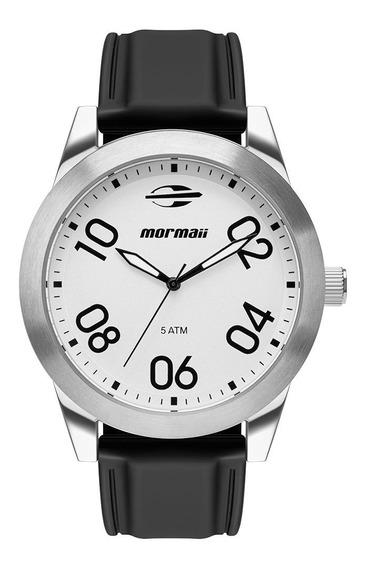 Relógio Anaógico Mormaii Steel Basic Prata Mo2035jt/8k
