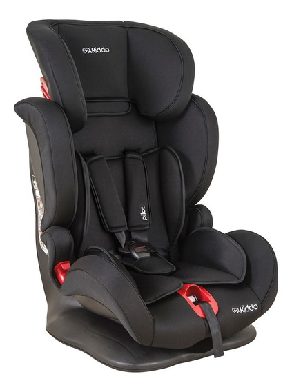 Cadeira Para Auto - De 09 A 36 Kg - Pilot - Preta - Kiddo