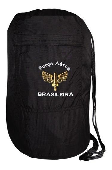 Saco Cairê Fab Força Aérea Brasileira Preta