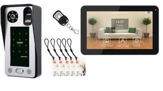 Video Portero Wifi Control Acceso Con Monitor 9 App Celular