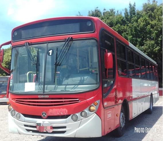 Onibus Mercedes 1722 - 3 Portas Caio Apache Ano 2008.