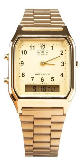 Reloj Casio Vintage Aq-230ga Aq-230ga-9bvt