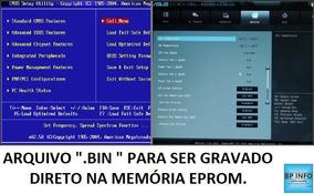 Arquivo De Bios (.bin) - Intel D510mo