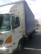 Arriendo Camion 8 Toneladas Con Cortinas