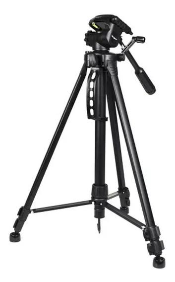 Trípode Profesional Canon Nikon Manija Max 147cm + Estuche