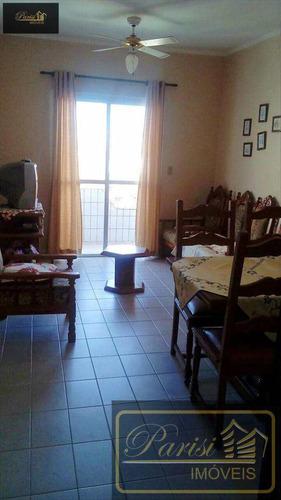 Imagem 1 de 20 de Apartamento Com 2 Dorms, Real, Praia Grande - R$ 180.000,00, 72m² - Codigo: 84 - V84