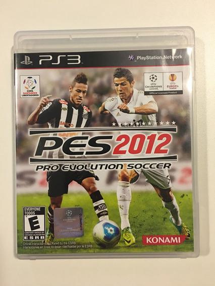 Pes 2012 | Ps3 | Pro Evolution Soccer | Mídia Física