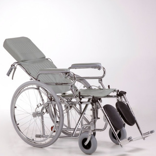 Care Quip Silla De Ruedas Reclinable Cromada A311