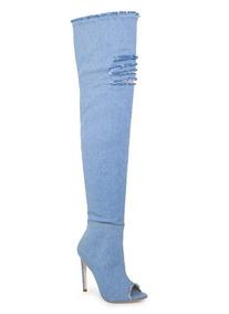 4f6e706bed Bota Martin Boots - Botas para Feminino Azul claro no Mercado Livre ...
