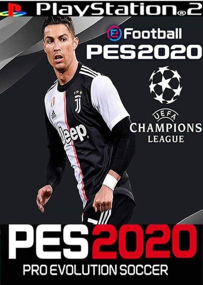 Pes 2020 Europeu ,jogos Ps2,atual Lançamento
