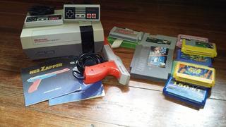 Consola Nintendo Completa Con Accesorios Y Juegos