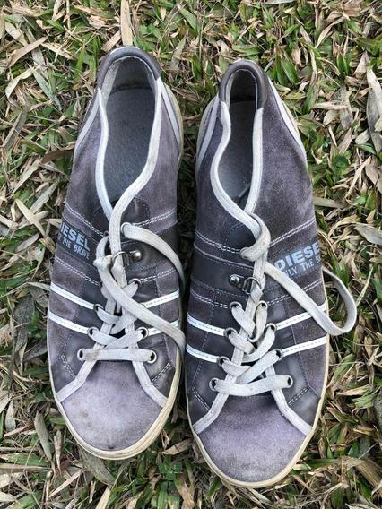 Zapatillas Marca Diésel Usadas Traídas De España Talle 42
