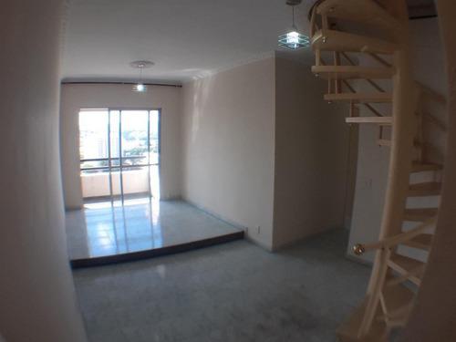 Cobertura Duplex Com 4 Dormitórios (1 Suíte), Penha, À Venda, 134 M², 2 Vagas, Lazer Completo, São Paulo. 1,8 Km Metrô, 1 Km Marginal, Área Verde - Co0004