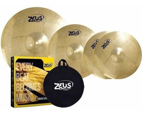 Kit De Pratos Zeus Beginner Set C 14 16 20