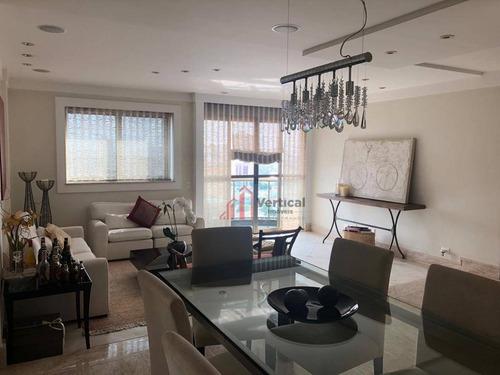 Apartamento Com 3 Dormitórios À Venda, 153 M² Por R$ 1.200.000,00 - Tatuapé - São Paulo/sp - Ap5832