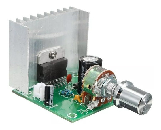 Módulo Painel Digital Audio Amplificador Tda7297 Versão 2 Pe