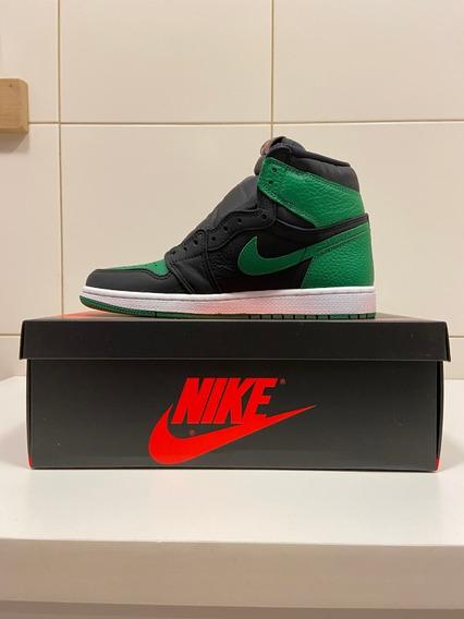 Tênis Nike Air Jordan 1 Pine Green High Og 38