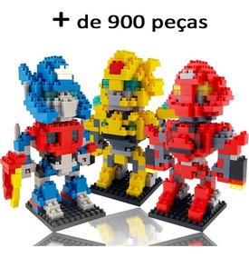 Brinquedo De Montar 3 Robôs Transformers Frete Grátis