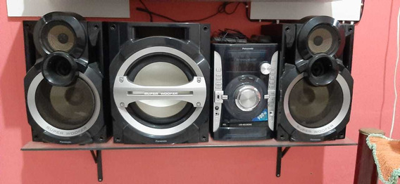Mini System Panasonic Sc-akx74lb-k 9