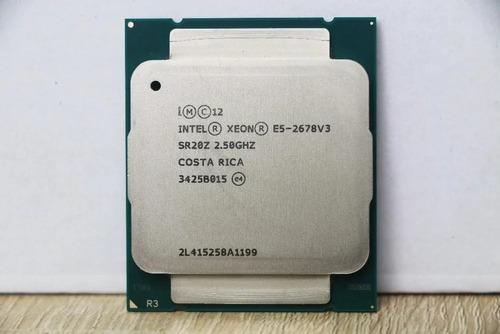 Intel Processador Xeon E5-2678 V3 2.50 12core R430 T630 R730
