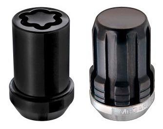 Lug Nuts Lob Alen Mcgard Cromo Preto M12x1.5 Gm, Ford, Honda