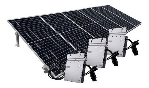 Imagen 1 de 5 de Kit De 6 Paneles Solares 450w Completo - Genera 700kwh Bim