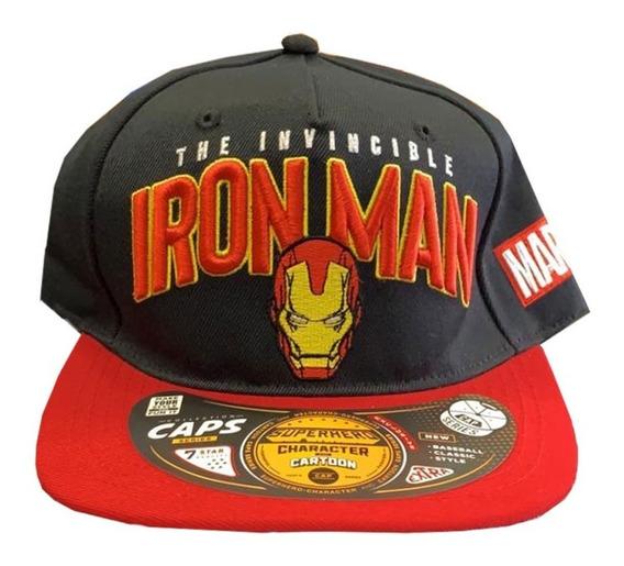 Gorra Cap Original Marvel Ironman