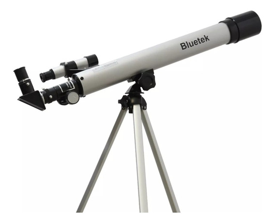 Telescópio Refrator Astronômico Luneta 450x Com Tripé 60050