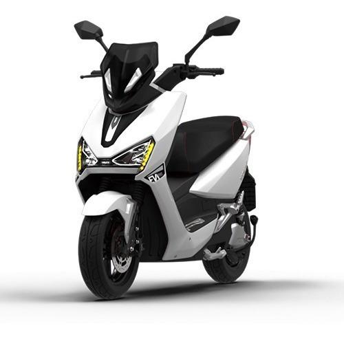 Imagem 1 de 10 de Scooter Moto Elétrica Voltz Ev1 Sport Branca - 2 Baterias